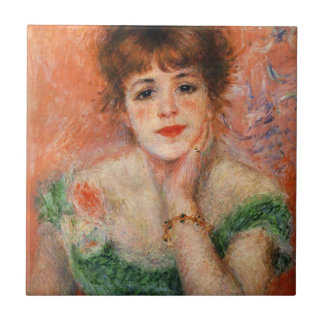 Renoir Jean Samary in a Low Necked Dress Tile