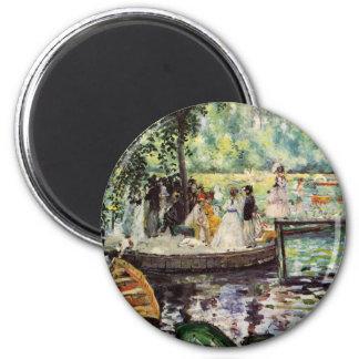 Renoir La Grenouillere Fridge Magnets