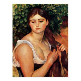 Renoir la postal de la trenza