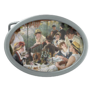Renoir: Luncheon of the Boating Party Belt Buckle