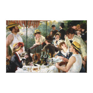 Renoir: Luncheon of the Boating Party Canvas Print