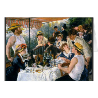 "Renoir ""Luncheon of the Boating Party"" Card"