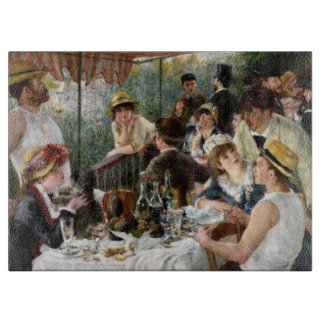 Renoir: Luncheon of the Boating Party Cutting Board