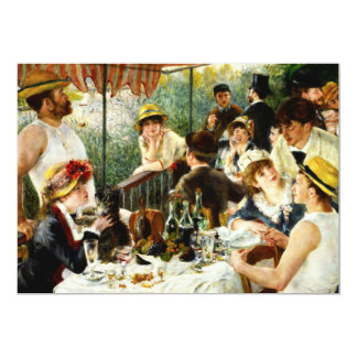 Renoir Luncheon of the Boating Party Invitation