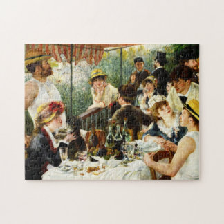 Renoir Luncheon of the Boating Party Jigsaw Puzzle