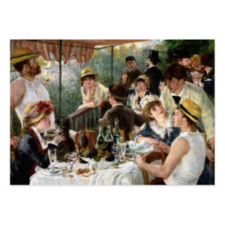 Renoir: Luncheon of the Boating Party Large Business Card