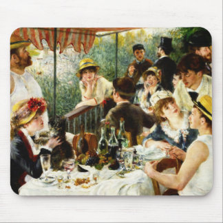 Renoir Luncheon of the Boating Party Mouse Pad