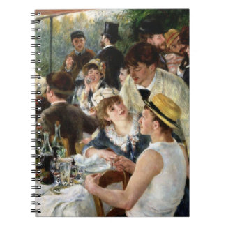 Renoir: Luncheon of the Boating Party Spiral Note Books