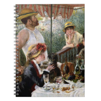 Renoir: Luncheon of the Boating Party Note Book