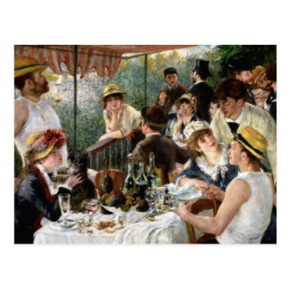 Renoir: Luncheon of the Boating Party Postcard