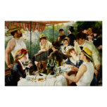 Renoir Luncheon of the Boating Party Poster