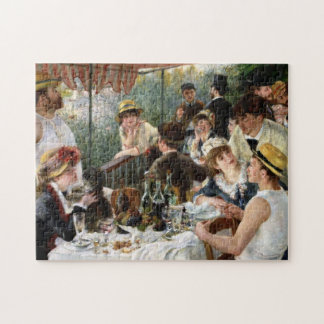 Renoir: Luncheon of the Boating Party Jigsaw Puzzles