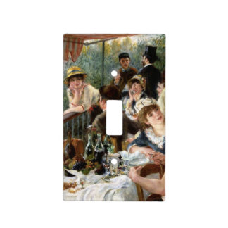 Renoir: Luncheon of the Boating Party Switch Plate Cover