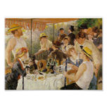 Renoir, Luncheon of the Boating Party (with Oboes) Poster