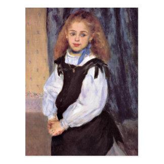 Renoir - Mademoiselle Legrand Postcard