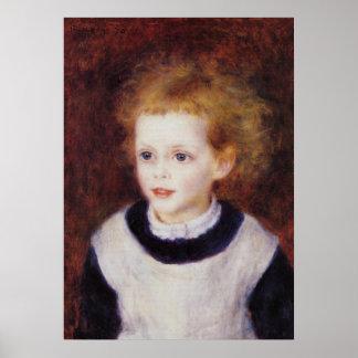 Renoir - Margarita Berard Póster