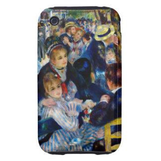 Renoir Moulin De La Galette iPhone 3 Tough Cases