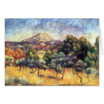 Renoir: Mount Sainte-Victoire Greeting Card