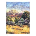"Renoir: Mount Sainte-Victoire 5"" X 7"" Invitation Card"
