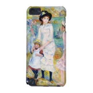 Renoir - niños en la costa carcasa para iPod touch 5G
