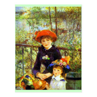Renoir: On the Terrace Postcard