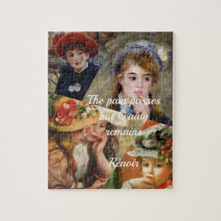 Renoir painting colage jigsaw puzzles