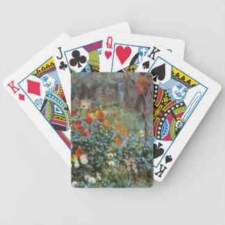 Renoir Painting Bicycle Playing Cards