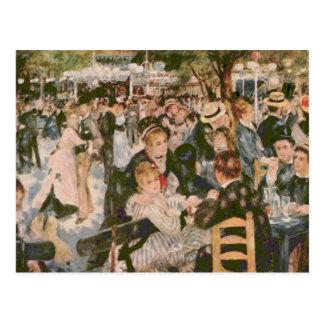 Renoir Painting Postcard