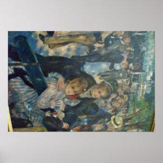 Renoir Painting Poster