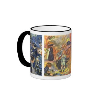 Renoir Paintings mug