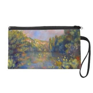 Renoir - paisaje de la orilla del lago