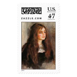 "Renoir ""Portrait of Julie Manet"" Postage"