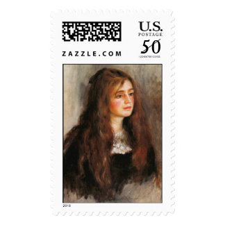"Renoir ""Portrait of Julie Manet"" Postage"