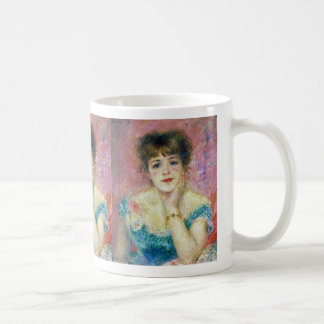 "Renoir, ""Portrait of the Actress Jeanne Samary"" Coffee Mug"