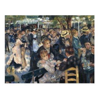 Renoir: Postal de Galette del la de Bal du Moulin