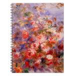 Renoir: Rosas por la ventana Libreta Espiral