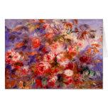 Renoir: Rosas por la ventana Tarjeta