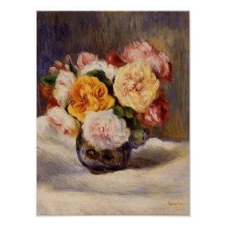 Renoir Rose Bouquet Print