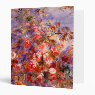 Renoir: Roses by the Window 3 Ring Binder