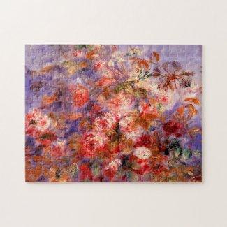 Pierre-Auguste Renoir: Roses by the Window
