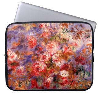 Renoir: Roses by the Window Laptop Computer Sleeves