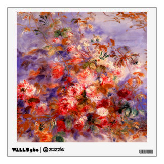 Renoir: Roses by the Window Wall Sticker