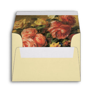 Renoir Roses Envelopes A2