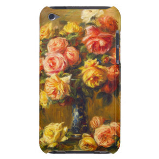 Renoir Roses in a Vase iPod Touch Case