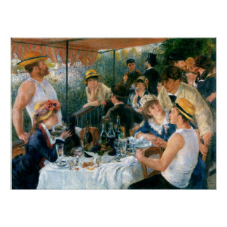 Renoir s Luncheon of the Boating Party 1881 Print