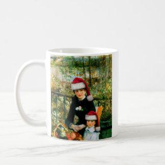 Renoir Santa Coffee Mug