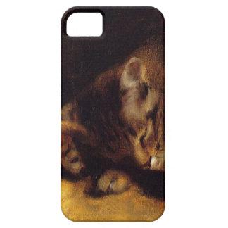 Renoir Sleeping Cat iPhone 5 Case