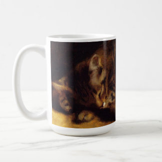 Renoir Sleeping Cat Mug