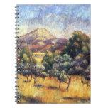 Renoir: Soporte Sainte-Victoire Libro De Apuntes Con Espiral