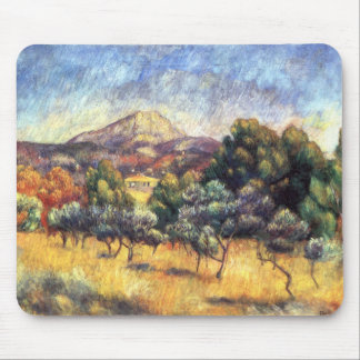 Renoir Soporte Sainte-Victoire Tapete De Ratones